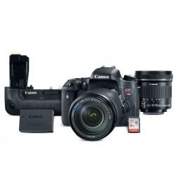 Canon - 0020C029AA - EOS Rebel T6s EF-S 18-135 + EF-S 10-18 STM, BG-E18/LP-E17 Battery Kit 16GB SDHC Card