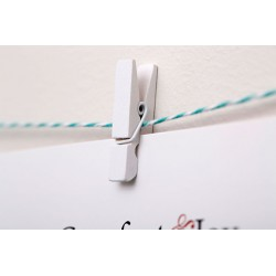 Canon - 0041X989 - Photo Clip String Set (White)
