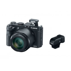 Canon - 0106C023AA - PowerShot G3 X with Electronic Viewfinder EVF-DC1