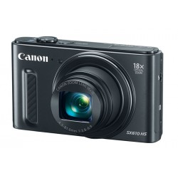 Canon - 0111C027 - PowerShot SX610 HS Black Refurbished