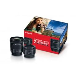 Canon - 0570C010 - Portrait Travel 2 Lens Kit