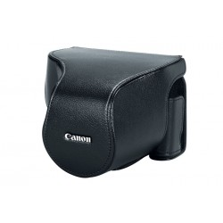 Canon - 1023C001 - Canon Deluxe PSC-6200 Carrying Case for Camera - Leather - 4 Height x 5.3 Width x 5 Depth