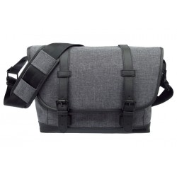 Canon - 1356C001 - Canon Dark Gray Street Messenger Bag
