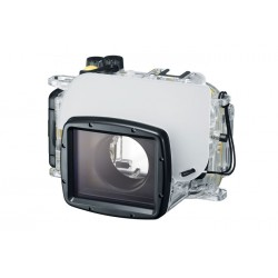 Canon - 1361C001 - Canon WP-DC55 Underwater Case for Camera - Water Proof Port - Polymer, Polycarbonate - Neck Strap, Wrist Strap - 5.8 Height x 6.9 Width x 5.3 Depth