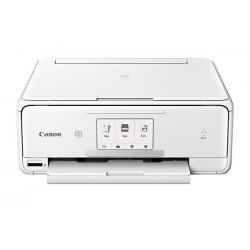 Canon - 1369C022 - PIXMA TS8020 White Wireless