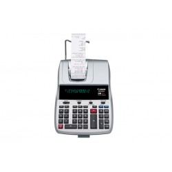 Canon - 8077A006 - Canon MP25DV Calculator - Dual Color Print - Dot Matrix - 4.3 lps - Large Display, Clock, Calendar - 12 Digits - Fluorescent - AC Supply Powered - 3.6 x 8.8 x 12.6