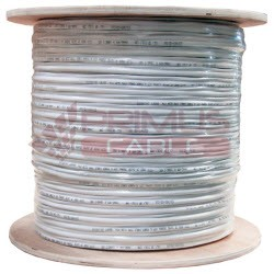Primus Cable - C5CMXT-2152BKWS - Primus CAT5e Cable for WISPs 350Mhz Outdoor Shielded Direct Burial 1000 Ft. Black (wooden spool)
