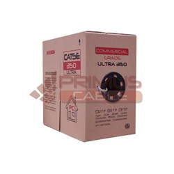 Primus Cable - C5U-373BK - Primus CAT5e Cable 350MHz Indoor Unshielded - 1000 Ft. (pull-out box)