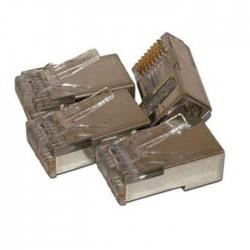 Shireen - CON-RJ45-S100 - Shireen CON-RJ45-S100 CAT5e RJ45 Shielded Connector (100 Pak)