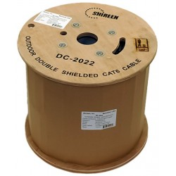 Shireen - DC-2022 - Shireen DC-2022 1000ft, Outdoor Double Shield Cat6