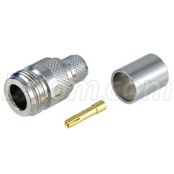 Other - NFC-400 - N Female Crimp Connector for LMR 400