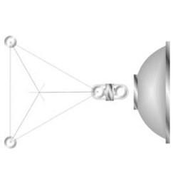 Rohn Products - S20um - Rohn S20um Mount, Dish, Straight 2' Leg, With 5' Pipe