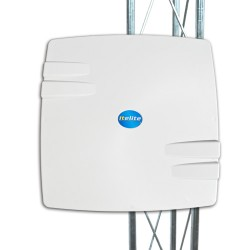 ITELITE - SRA-SE24/50 - ITElite 2.4/5GHz Dual-Band 14/16dBi Outdoor Integrated Antenna System for MikroTik V-Pol (MMCX pigtail and RJ45-ECS included)