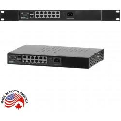 Netonix - WS-12-400-AC - 12 Port Managed PoE Switch AC 400W