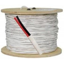 Vertical Cable - 162-500WH - 16awg 2 Con 65 Strand 500' Box White