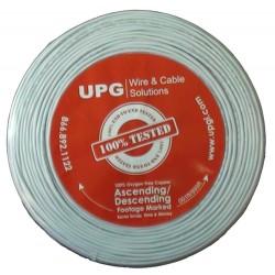 Upgi - 224-500WH-UPG - 22-4-500wh-upg 22-4 Solid Coil Pack White 500'