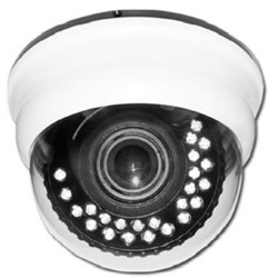 Channel Vision - 6126W - Ir Dome Camera 540 Lines White