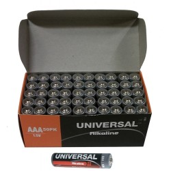 Upgi - AM3ALKUBCLABEL - D5312 Aa Alkaline Battery 50pk Bulk