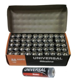 Upgi - AM4ALKUBCLABEL - D5313 Aaa Alkaline Battery 50pk Bulk