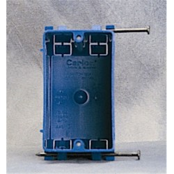 Thomas & Betts - BH118R - Carlon BH118R Switch/Outlet Box, 1-Gang, Old Work, Depth: 3-41/64, Non-Metallic