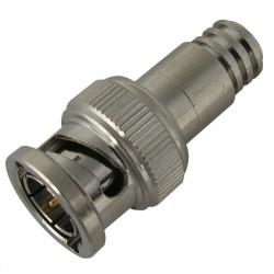 Holland Electronics - BNC-1855FP - Holland Crimp BNC Plug for 23AWG HVS Cable