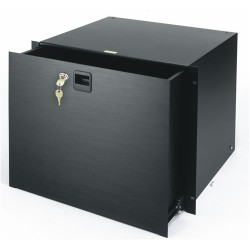 Middle Atlantic Products - D2LK - Middle Atlantic Products Rack Drawer - 2U Wide - Black