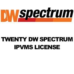 Digital Watchdog - DW-SPECTRUMLSC020 - 20 Dw Spectrum License