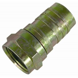 Holland Electronics - F56324g - F Connector Rg6 W/ring-brass