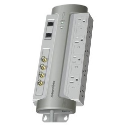 Panamax - PM8-AV - 8 outlet surge protector, coax, tel