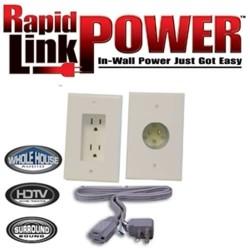 Vanco - RL125023-IV - Vanco - Rapid Link Power Power Backplate - 2 x Female