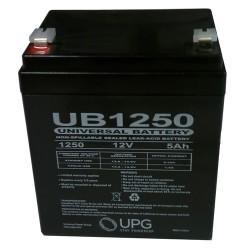 Upgi - UB1250 - D5741 12v 5.0ah Sealed Lead Acid Backup Batt