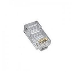 Platinum Tools - 106188J - Platinum Tools RJ45 Cat6 2 Piece High Performancer Connector - 100 Pack