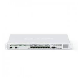 MikroTik - CCR1036-8G-2S+ - Cloud Core Router 1036-8G-2S+ with Tilera Tile-Gx36 CPU (36-cores, 1.2GHz per core), 4GB RAM, 2x SFP+ cage, 8x Gigabit LAN, RouterOS L6, 1U rackmount case, PSU, LCD panel
