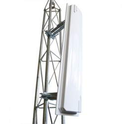 ITELITE - CSECTOR24015DUAL - 15dBi Dual Polarity 90 degrees Sector Antenna, 2.4-2.5GHz, N-Female. Ready for Cambium ePMP 1000