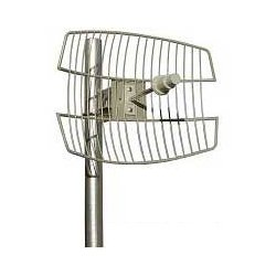 Laird Technologies - GD57-25 - 25dBi 5.4-5.7GHz Parabolic Grid Antenna (N-Female Integrated Connector), Dimensions: 24x16.8