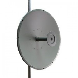 Laird Technologies - HDDA3W-25-SP - HD Series 25dBi 3.3-3.8GHz Wideband Dish Antenna (N-Female Integrated Connector)