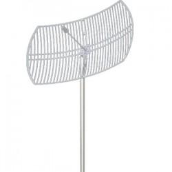 Hana Wireless - HW-DCGD58-30NF - 5.8GHz 30dBi Grid Dish N Female