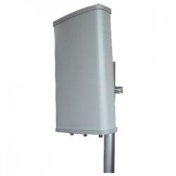 Hana Wireless - HW-SA58-11-MIMO - 5.8GHz 11dBi MIMO Sector N Female