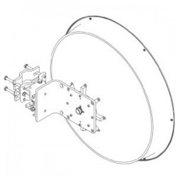 Jirous - JRMB-680-11 - JIROUS JRMB-680 10.1-11.7 GHz (2-foot) Dish 35.5 dBi