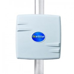ITELITE - MRA5016DP - 16dBi Dual Polarity Panel Antenna with Integrated Small Square Enclosure, 5.1-5.9GHz