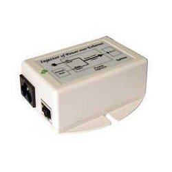 Laird Technologies - POE-24I - PoE Power Supply/Inserter, Input 90-264VAC, 24VDC output voltage at 0.5A, 12W