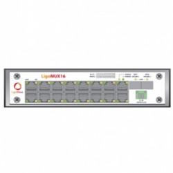 Ligowave - Lw-ptp-620hp-mux - Ligomux 16 For Ptp620hp-idu 16 E1/t1 Mux