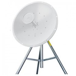 Ubiquiti Networks - RD-5G30 - Ubiquiti AirMax Carrier Class 2x2 PtP Bridge Dish Antenna - Upto 31.1 Mile Range - SHF - 5.10 GHz to 5.80 GHz - 30 dBi - Wireless Data NetworkPole