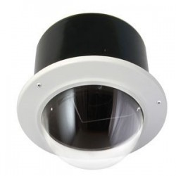 Moog / Videolarm - RM7TF2 - Videolarm RM7TF2 Outdoor Vandal Resistant Recessed Ceiling Dome Housing - 1 Fan(s) - 1 Heater(s)