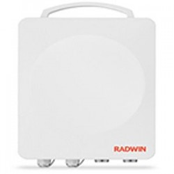 Radwin - RW-2024-A125 - RADWIN 2000 A-Series ODU with 13 dBi integrated antenna, supporting frequency bands at 2.4GHz FCC/IC up to 25Mbps net aggregate throughput