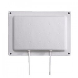 Laird Technologies - S2406DSP48RBN - 2400-2500MHz Diversity Directional Panel Antenna, 6 dBi, Wall Mnt., 48 coax, RP-BNC, Dimensions: 6.5x4.75x0.75