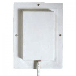 Laird Technologies - S2406P36RTN - 2400-2500MHz Single Patch Antenna, 6 dBi, 36 coax, RP-TNC, Dimensions: 5.2x3.8x0.5