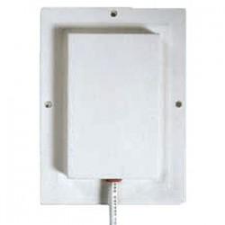 Laird Technologies - S2406P36RTN - 2400-2500MHz Single Patch Antenna, 6 dBi, 36 coax, RP-TNC, Dimensions: 5.2x3.8x0.5