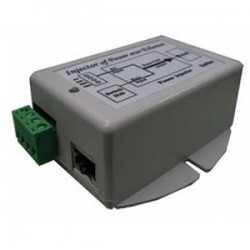 Tycon Power Systems - TP-DCDC-1248 - Tycon Power 24 W DC to DC Converter with POE Inserter - 36 V DC Input - 48 V DC Output - Ethernet Input Port(s) - Ethernet Output Port(s) - 24 W