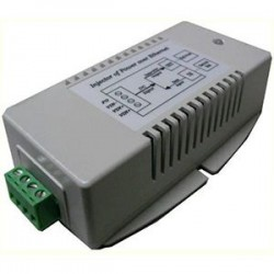 Tycon Power Systems - TP-DCDC-2448-HP - Tycon Power TP-DCDC-2448-HP PoE Injector - 24 V DC Input - 56 V DC, 500 mA Output - 10/100/1000Base-T Input Port(s) - 10/100/1000Base-T Output Port(s) - 30 W